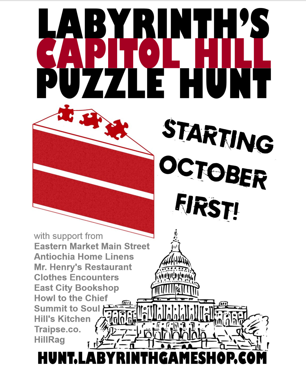 Join the 1st Annual Hill Puzzle Hunt - HillRag on
