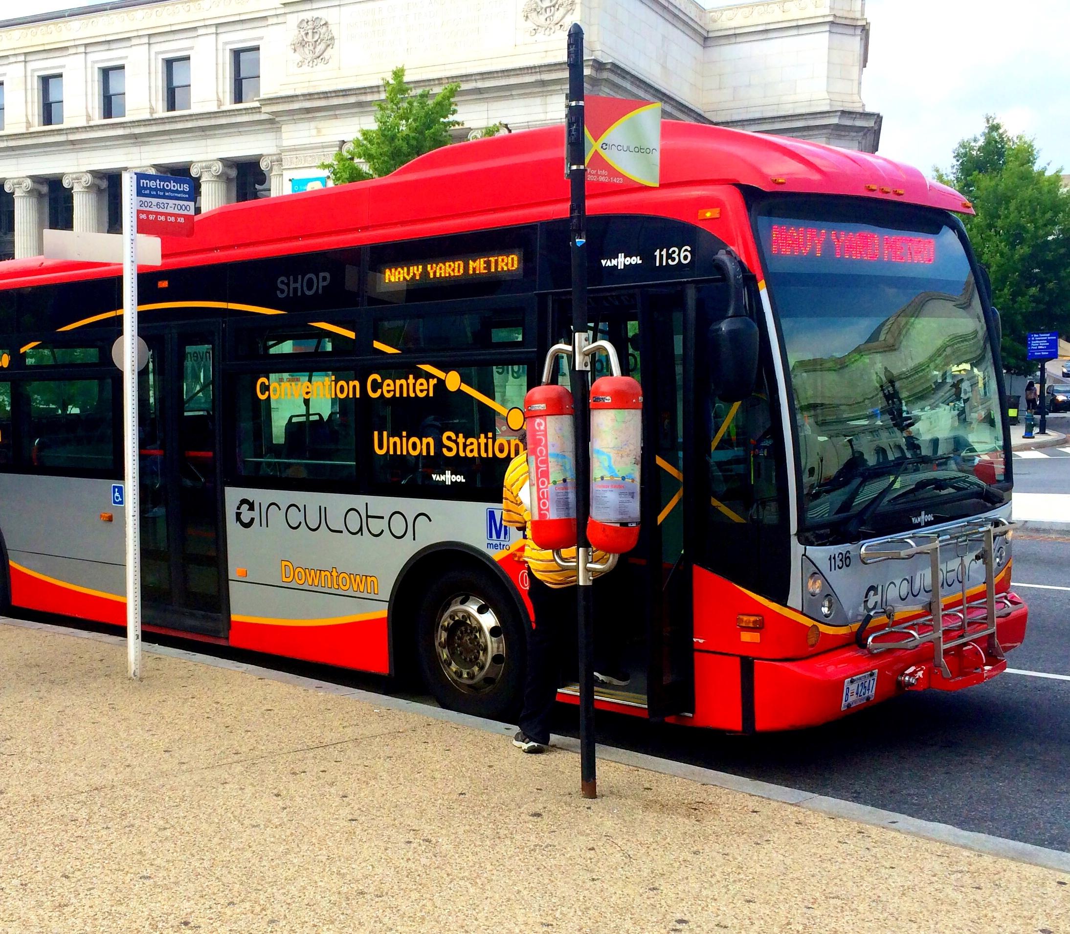 DC Circulator Route Changes Begin June 24 - HillRag