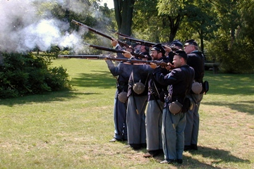 Revolutionary War Reenactment at Fort Ward - HillRag