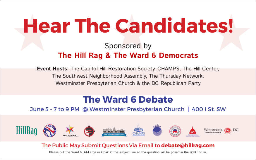 Ward 6 Candidates Answer the Public's Questions - HillRag